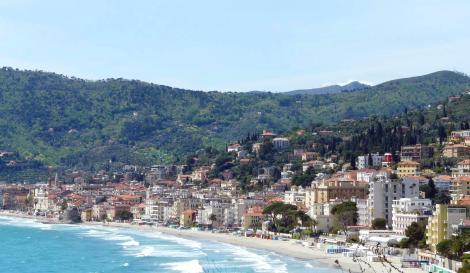 Алассио - город у моря