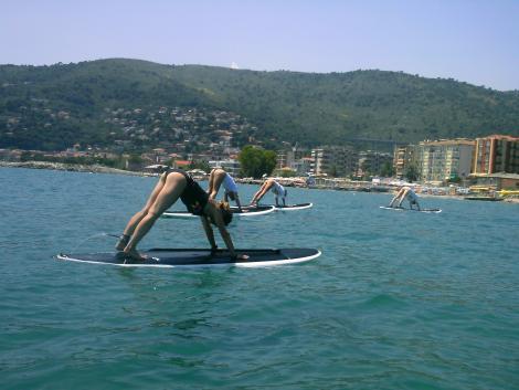 фитнес-серфинг в Марина ди Андоре