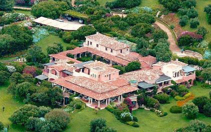 Главный дом в поместье Чертоза