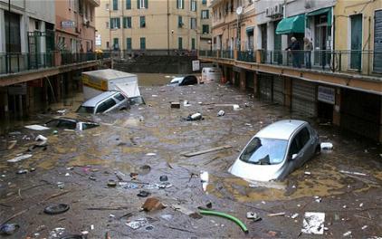 Наводнение в Генуе 2014