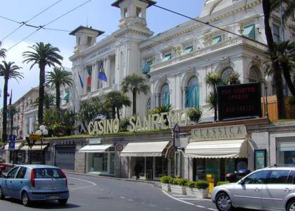 Сан-Ремо, легендарное казино