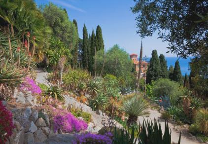 в ботаническом саду Хэнбери