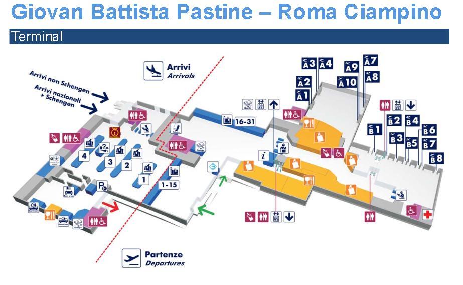 Аэропорт Рима Фьюмичино Fiumicino FCO Тонкости туризма