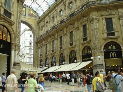 В галерее Витторио Эмануэле II
