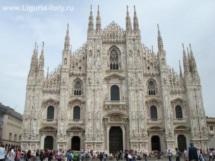 Миланский собор Santa Maria Nascente